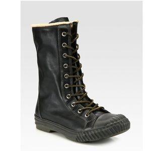 6d3db1b1113f89 Converse Shoes - NWT Converse Chuck Taylor Bosey Boot Hi Black